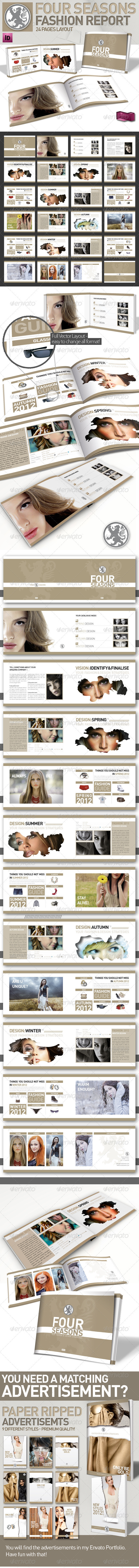 Clean Fashion & Product Magazine // A5 // Brochure - Corporate Brochures