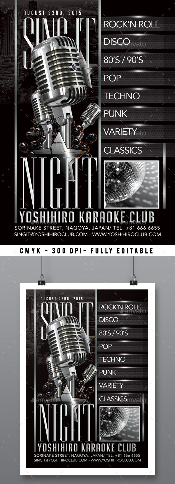 Karaoke Night - Clubs & Parties Events