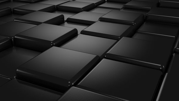 Black Cubes Animation by Dragun3d | VideoHive