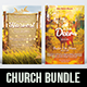 2 in 1 Church Flyer Bundle V.1 - GraphicRiver Item for Sale