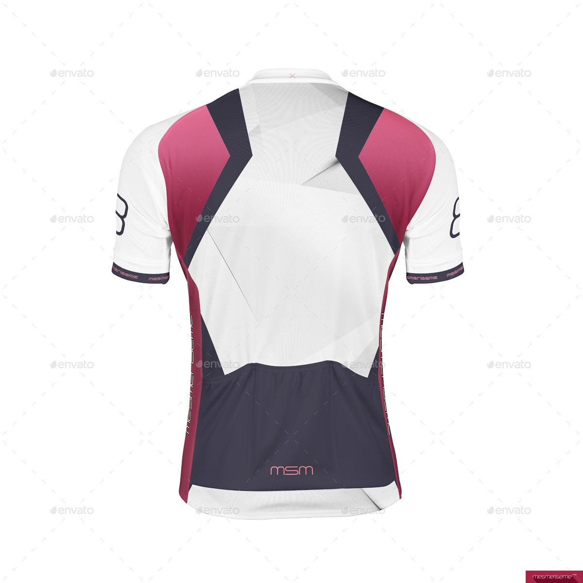 Bike Jersey Short Zip Mock-up - Miscellaneous Apparel. screenshots Back.jpg  ... 3c20ad8db