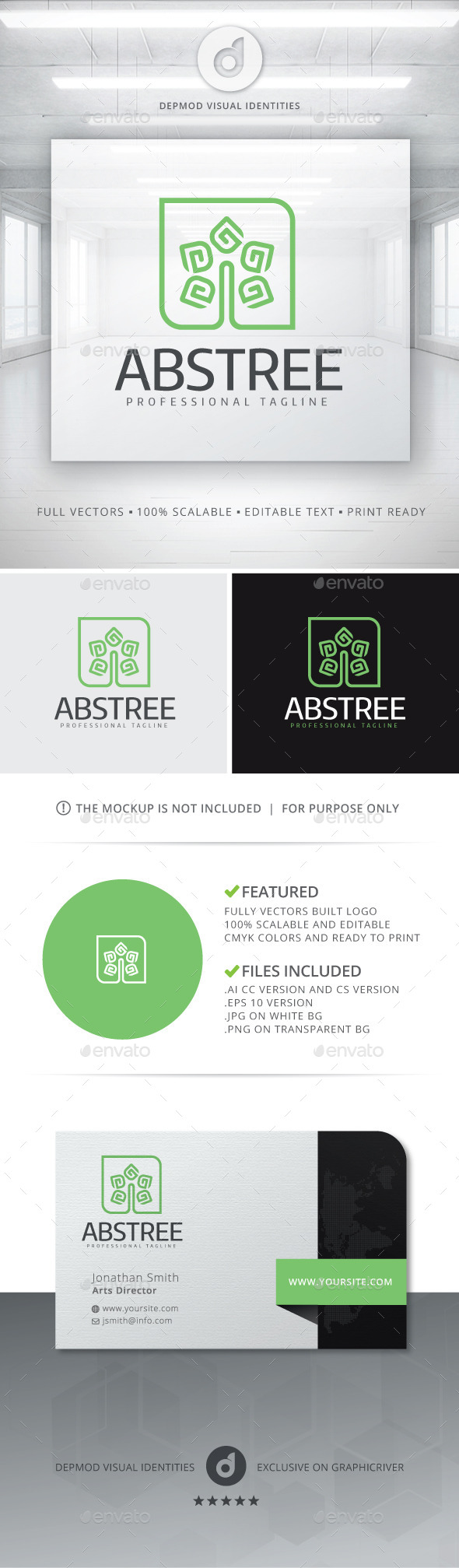 Abstree Logo - Nature Logo Templates