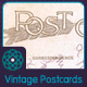 Vintage Postcard Backs - GraphicRiver Item for Sale