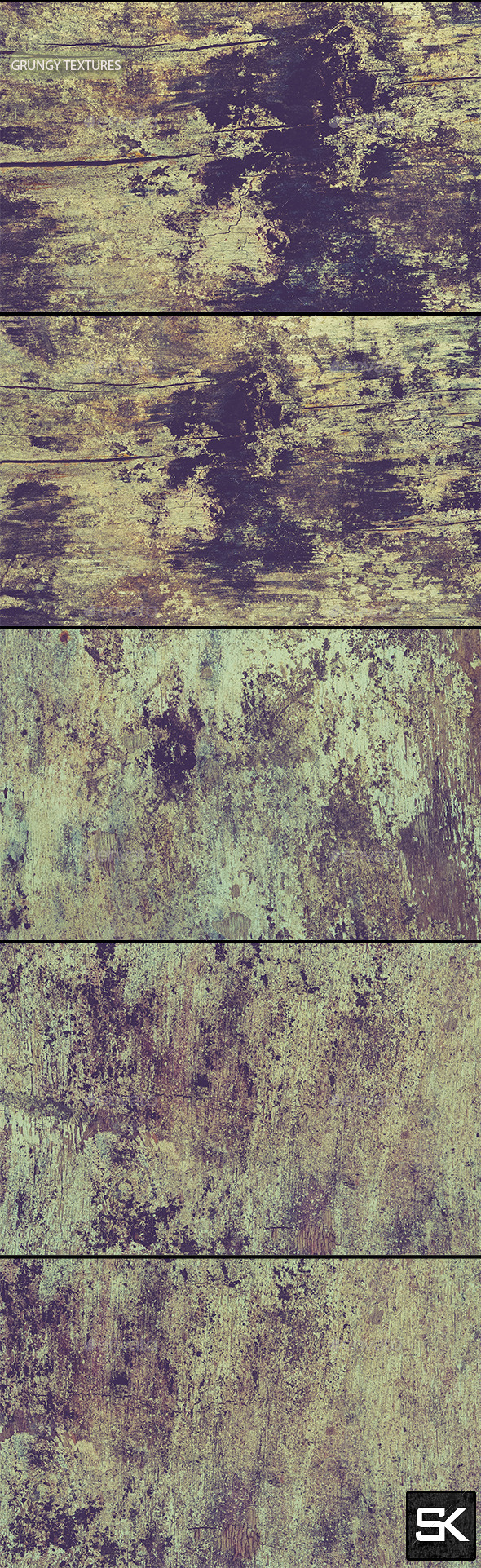 Grungy Textures - Industrial / Grunge Textures
