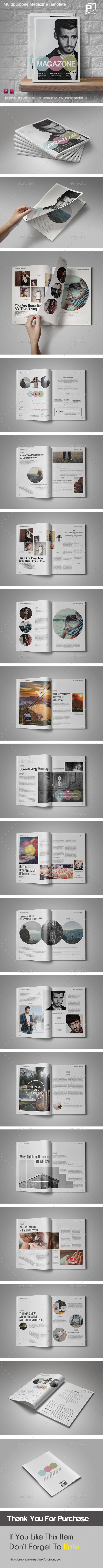 Catchy Magazine - 28 Pages - Magazines Print Templates