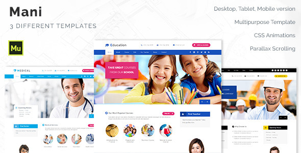 Mani – Multipurpose Template