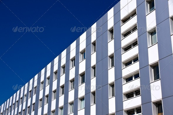 Modern office building - Stock Photo - Images