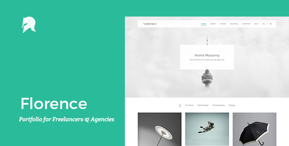 Florence – Portfolio for Freelancers & Agencies
