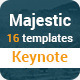 Majestic Multipurpose Keynote Presentation Templat - GraphicRiver Item for Sale