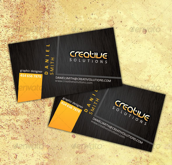 Modern business card template - Creative Business Cards