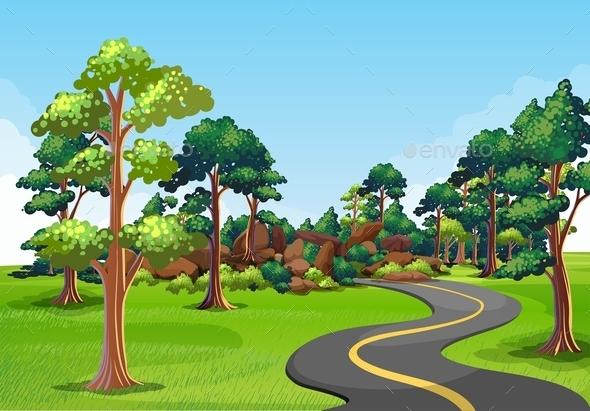 Road Trip - Landscapes Nature