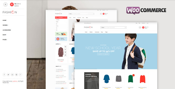 Fashion Store – Responsive WooCommerce Theme