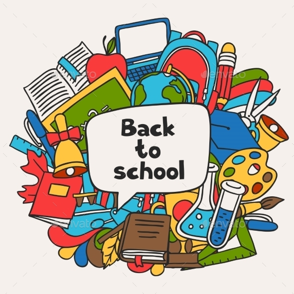 Back To School Background With Education Hand - Industries Business