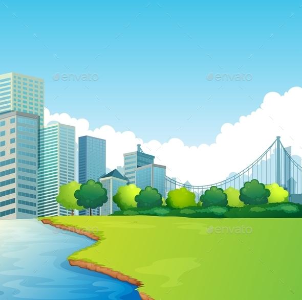 City Scene - Landscapes Nature