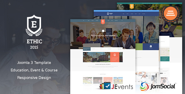 Education, Event and Course – ETHIC Template