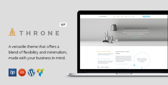 Throne – Responsive Business WordPress Theme