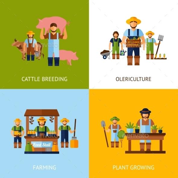 Farmers Design Concept - Nature Conceptual