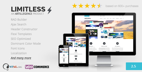 Limitless – Multipurpose Drag n Drop Theme