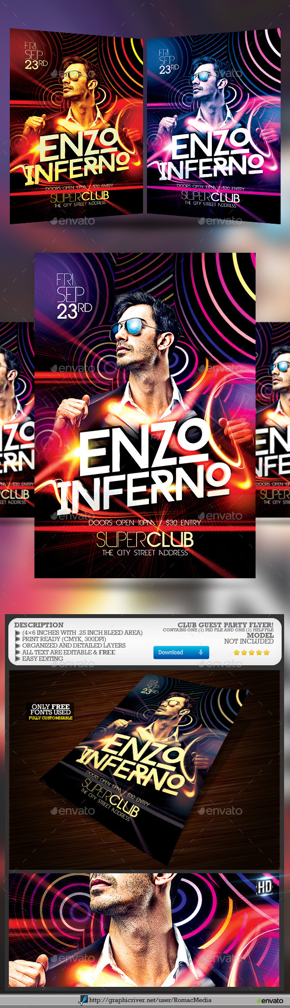 Club Guest Party - Clubs & Parties Events