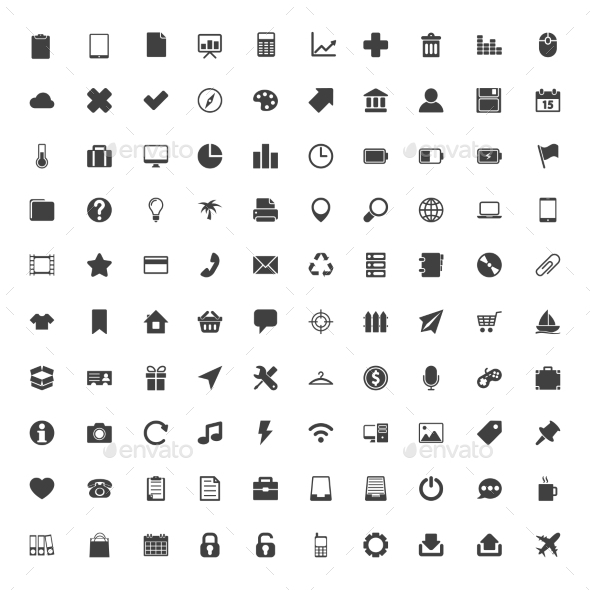 Web Icons Big Set - Web Icons