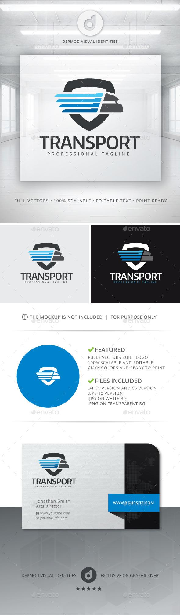 Transport Logo - Symbols Logo Templates
