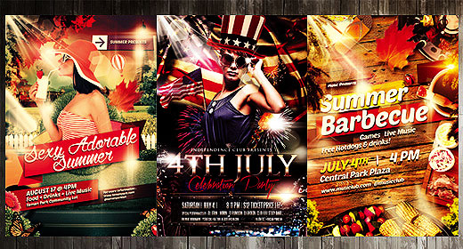 Holidays and Seasonal Events Flyers