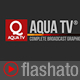 Aqua TV Broadcast Graphic Package Nulled