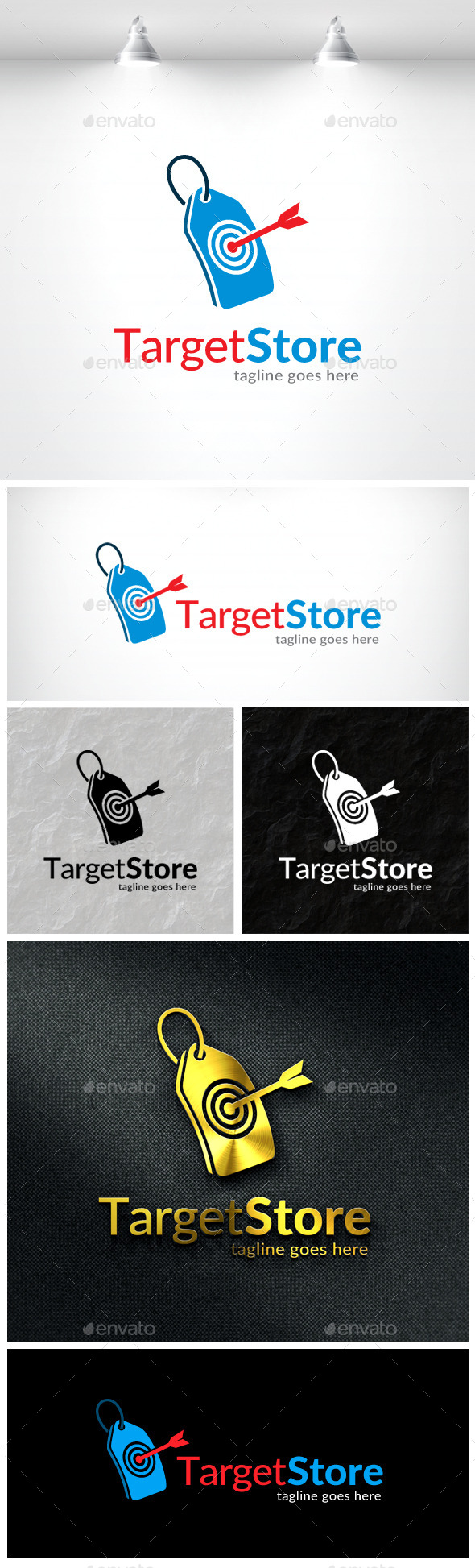 Target Store Logo - Objects Logo Templates