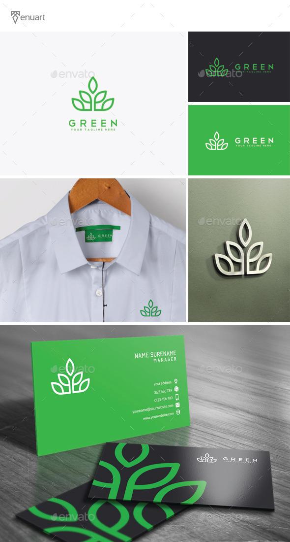 Green Logo - Nature Logo Templates