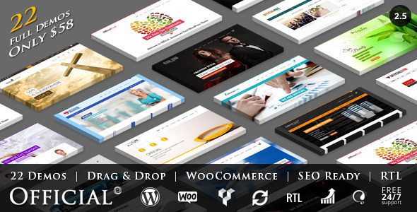 Official | Multi-Concept WordPress Theme + RTL