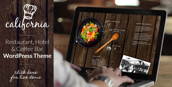 California – Restaurant Hotel Shop WordPress Theme