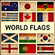 World Flags Grunge and Retro (Part 1) - GraphicRiver Item for Sale