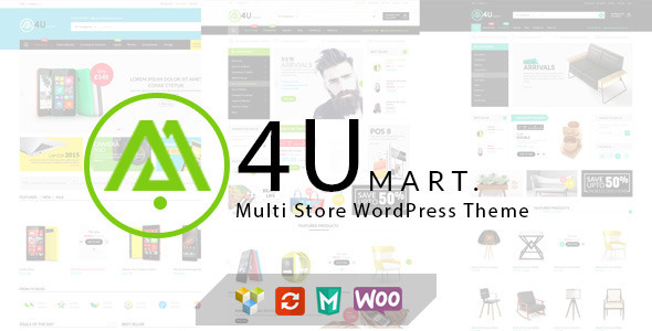 M4U – Multi Store Responsive WordPress Theme