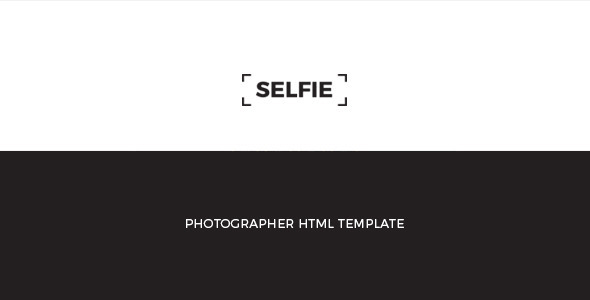 SELFIE : Personal Photographer HTML Template - Photography Creative