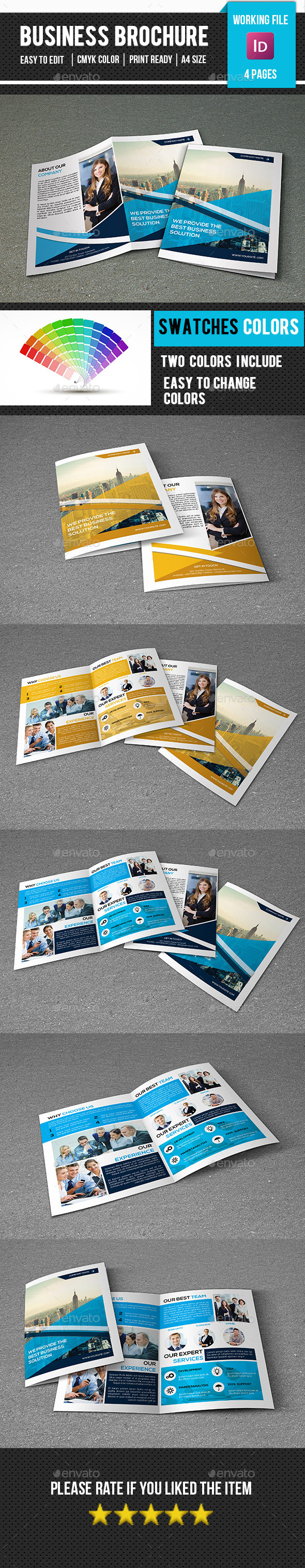 Corporate Brochure Template-V274 - Corporate Brochures