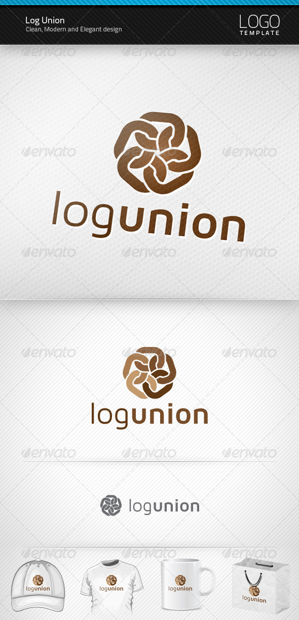 Log Union Logo - Symbols Logo Templates