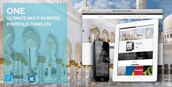 One | Ultimate Multi-Purpose, Portfolio Template