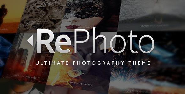 RePhoto – Photography Muse Template