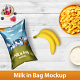 Milk in Bag Mockup - GraphicRiver Item for Sale
