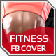 Health & Fitness Facebook Timeline Cover - GraphicRiver Item for Sale