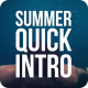 Summer Quick Logo Intro - VideoHive Item for Sale