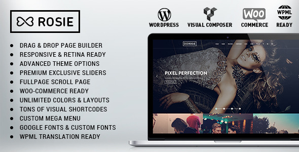 ROSIE – Multi-Purpose WordPress Theme