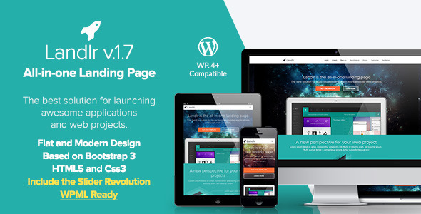 Landlr – The All-in-One Landing Page – WordPress