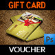 Gift Voucher Card Template Vol 20 - GraphicRiver Item for Sale