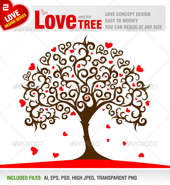 Love Tree - Valentines Seasons/Holidays