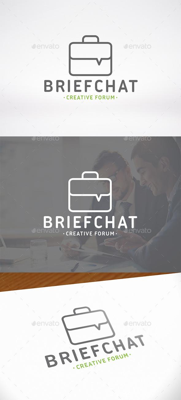 Business Chat Logo Template - Symbols Logo Templates