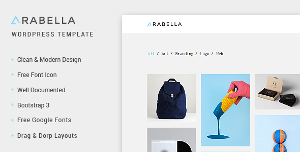 Arabella – WordPress Portfolio Theme