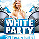 White Party Flyer v3 - GraphicRiver Item for Sale
