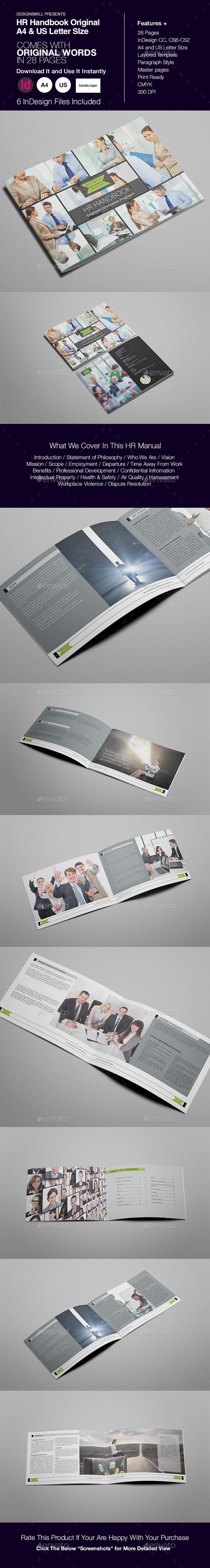 HR Handbook or Manual by designsmill | GraphicRiver
