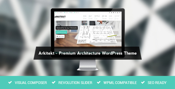 Arkitekt – Architecture WordPress Theme